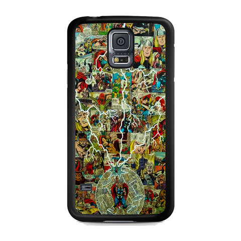 Thor Lightning Comic Samsung Galaxy S5 Case