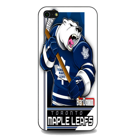 Toronto Maple Leafs Hockey Team iPhone 5 | 5S | SE Case