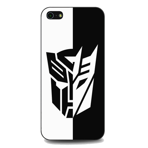 Transformers Black White iPhone 5 | 5S | SE Case