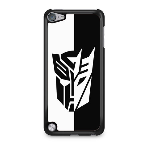 Transformers Black White iPod Touch 5 Case