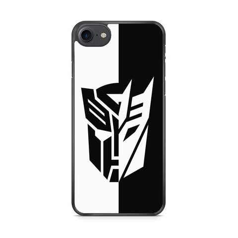 Transformers Black White iPhone 7 Case