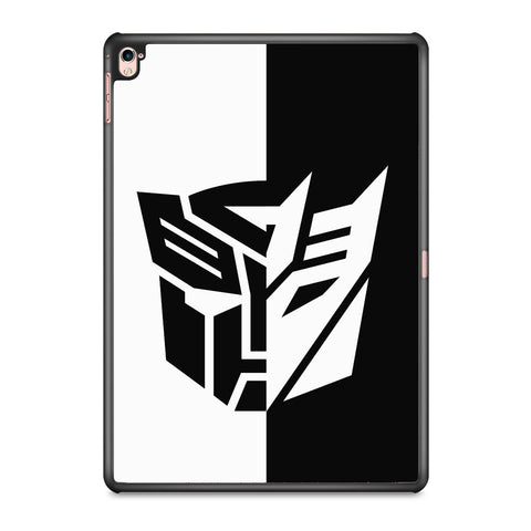 Transformers Black White iPad Pro 9.7 Inch Case
