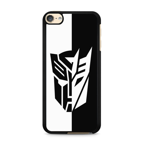 Transformers Black White iPod Touch 6 Case