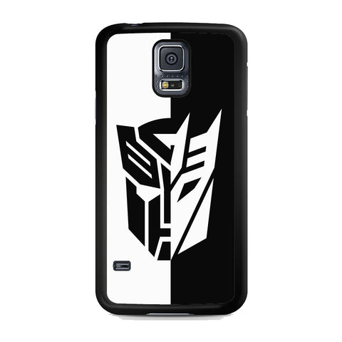 Transformers Black White Samsung Galaxy S5 Case