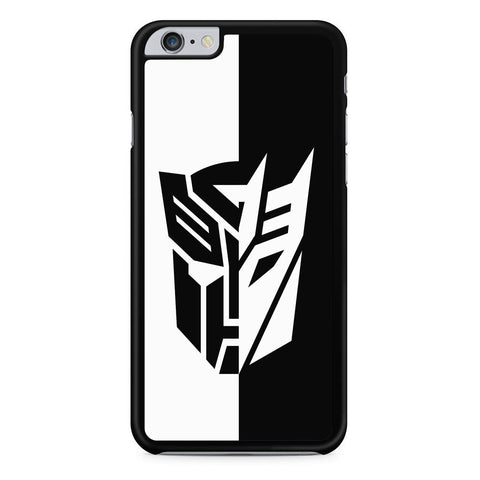 Transformers Black White iPhone 6 Plus | 6S Plus Case