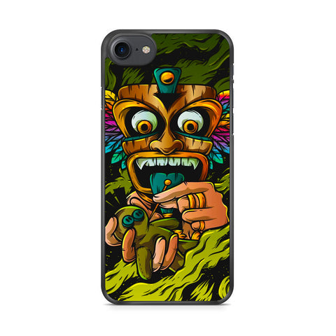 Tribal Mask Voodoo iPhone 7 Case