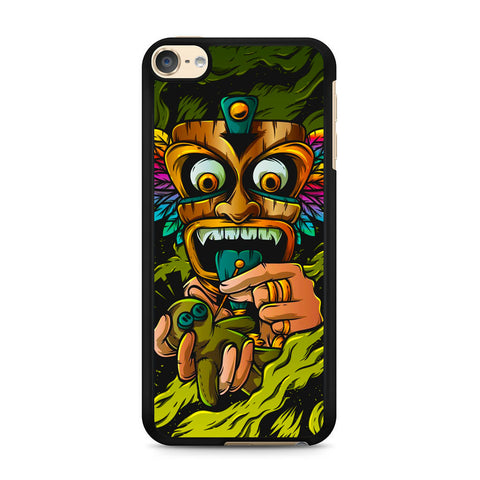 Tribal Mask Voodoo iPod Touch 6 Case