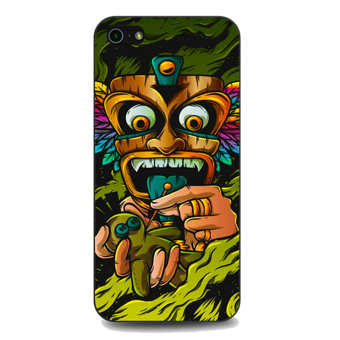 Tribal Mask Voodoo iPhone 5 | 5S | SE Case
