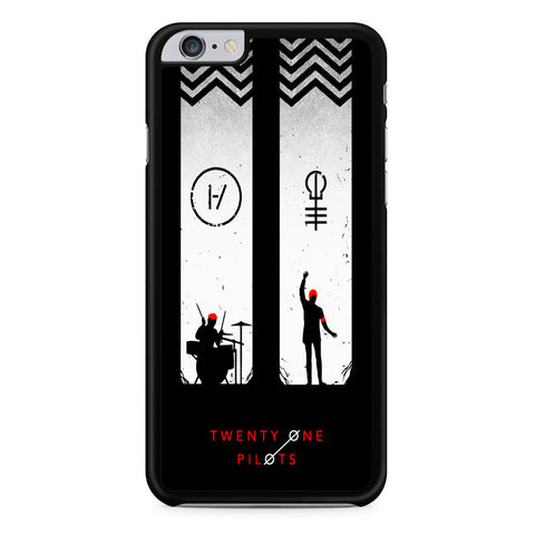 Twenty One Pilots Black White iPhone 6 Plus | 6S Plus Case