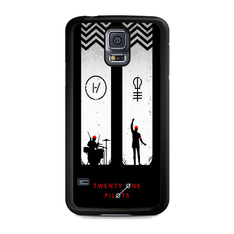 Twenty One Pilots Black White Samsung Galaxy S5 Case