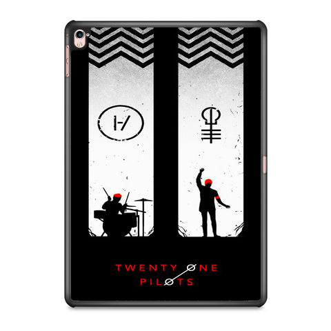 Twenty One Pilots Black White iPad Pro 9.7 Inch Case