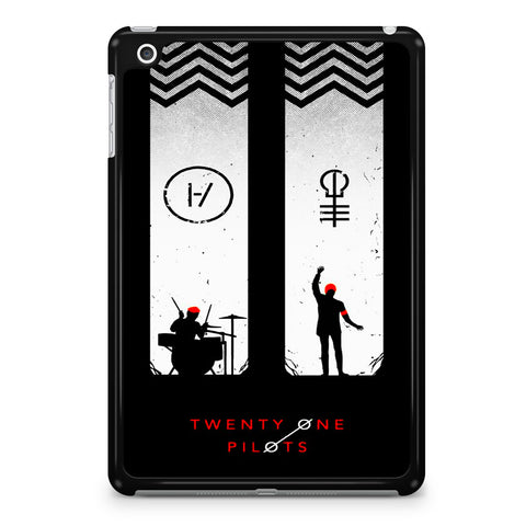 Twenty One Pilots Black White iPad Mini 4 Case