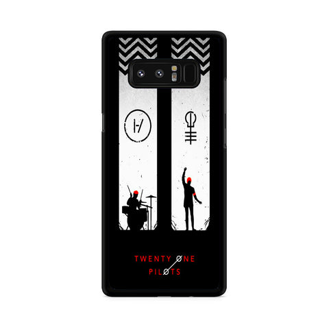 Twenty One Pilots Black White Samsung Galaxy Note 8 Case