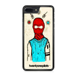 Twenty One Pilots Mask iPhone 7 Plus Case