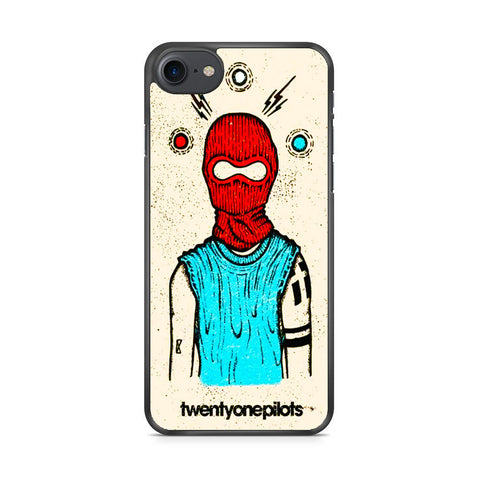 Twenty One Pilots Mask iPhone 7 Case
