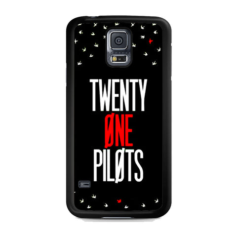 Twenty One Pilots Simple Black Samsung Galaxy S5 Case