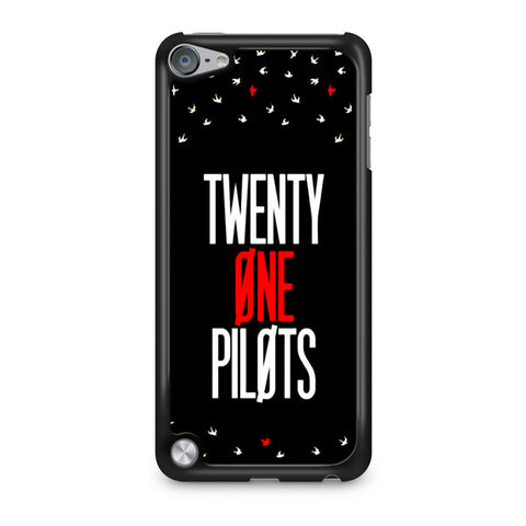 Twenty One Pilots Simple Black iPod Touch 5 Case