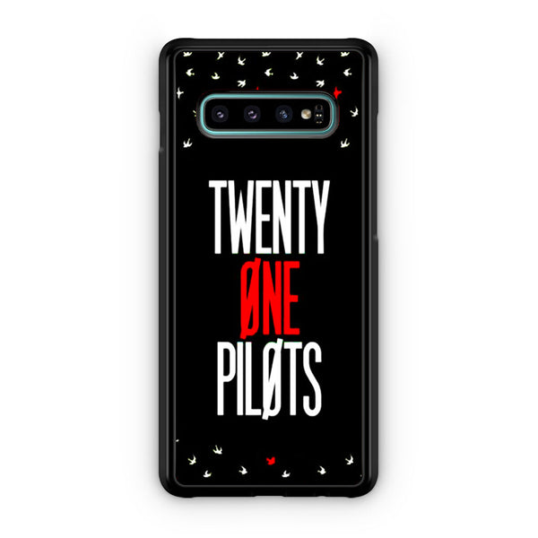 Twenty One Pilots Simple Black Samsung Galaxy S10 | S10e | S10 Plus | S10 5G Case