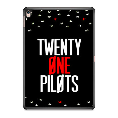 Twenty One Pilots Simple Black iPad Pro 9.7 Inch Case