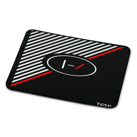 Twenty One Pilots Stripe Logo Mouse Pad