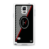 Twenty One Pilots Stripe Logo Samsung Galaxy Note 4 Case
