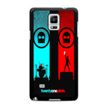 Twenty One Pilots Samsung Galaxy Note 4 Case