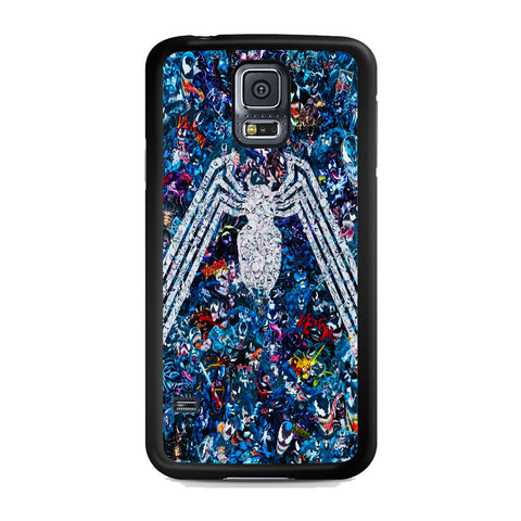 Venom Logo Collage Samsung Galaxy S5 Case