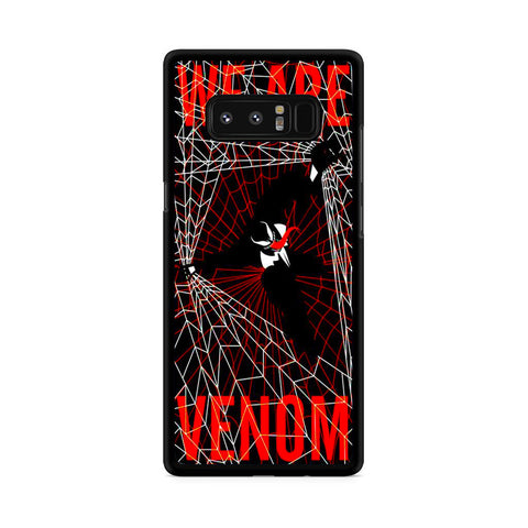 Venom We Are Venom Samsung Galaxy Note 8 Case