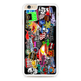 WWE Stars Logo Collage iPhone 6 Plus | 6S Plus Case