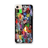 WWE Stars Logo Collage iPhone 7 Case