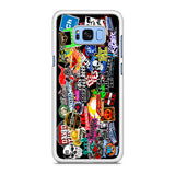 WWE Stars Logo Collage Samsung Galaxy S8 | S8 Plus Case