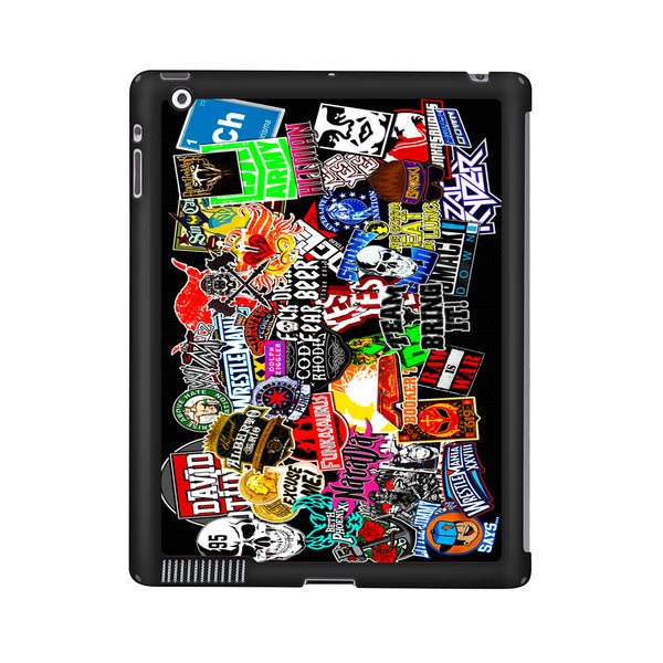 WWE Stars Logo Collage iPad 2 | 3 | 4 Case