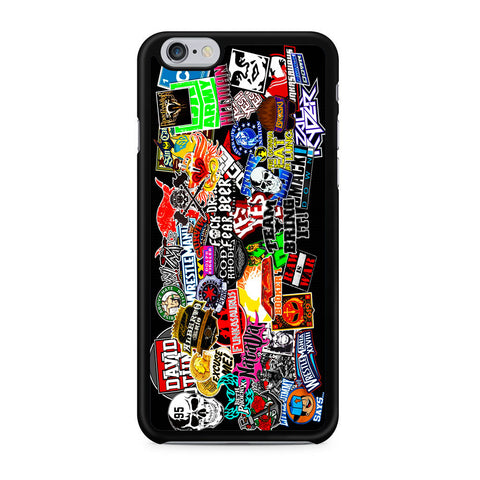 WWE Stars Logo Collage iPhone X | XR | XS | XS Max Case
