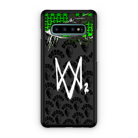 Watch Dogs 2 Join Dedsec Samsung Galaxy S10 | S10e | S10 Plus | S10 5G Case