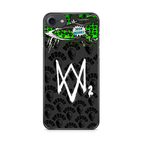 Watch Dogs 2 Join Dedsec iPhone 7 Case