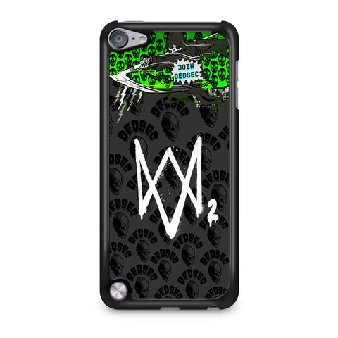 Watch Dogs 2 Join Dedsec iPod Touch 5 Case