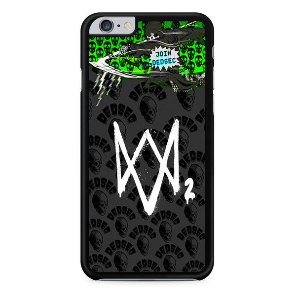 Watch Dogs 2 Join Dedsec iPhone 6 Plus | 6S Plus Case
