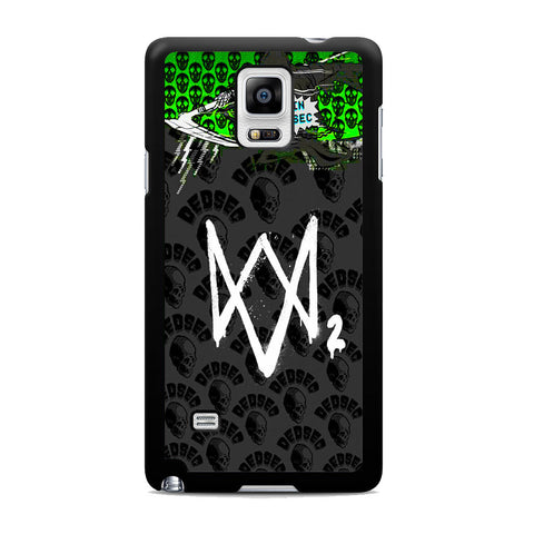 Watch Dogs 2 Join Dedsec Samsung Galaxy Note 4 Case