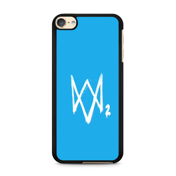 Watch Dogs 2 Sky Blue Logo iPod Touch 6 Case