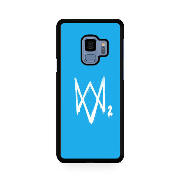 Watch Dogs 2 Sky Blue Logo Samsung Galaxy S9 | S9 Plus Case