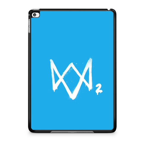 Watch Dogs 2 Sky Blue Logo iPad Air | Air 2 Case