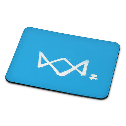 Watch Dogs 2 Sky Blue Logo Mouse Pad