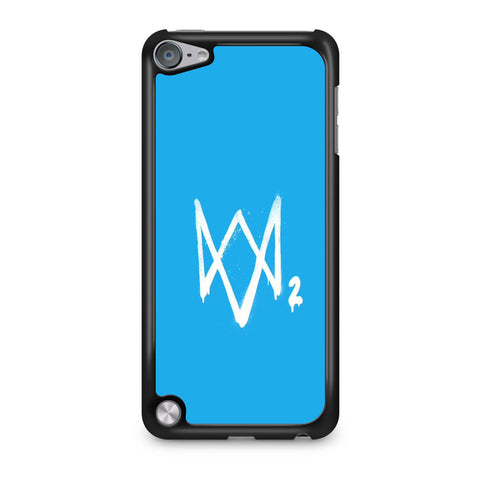 Watch Dogs 2 Sky Blue Logo iPod Touch 5 Case