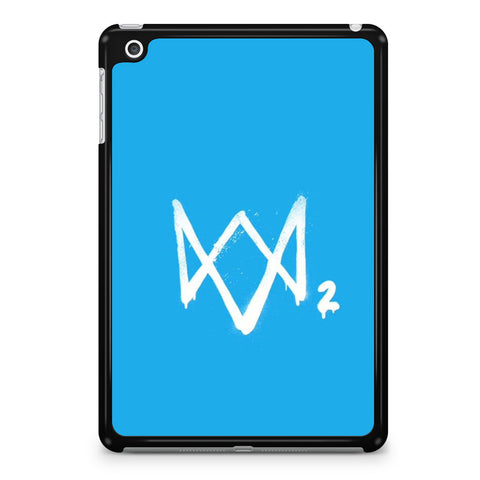 Watch Dogs 2 Sky Blue Logo iPad Mini 4 Case