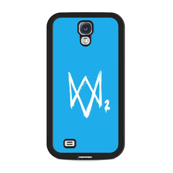Watch Dogs 2 Sky Blue Logo Samsung Galaxy S4 Case