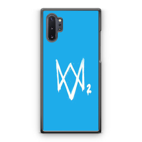 Watch Dogs 2 Sky Blue Logo Samsung Galaxy Note 10 | Note 10 Plus Case