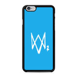 Watch Dogs 2 Sky Blue Logo iPhone 6 | 6S Case