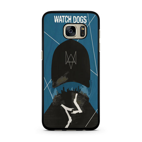 Watch Dogs Connection Is Power Samsung Galaxy S7 | S7 Edge Case