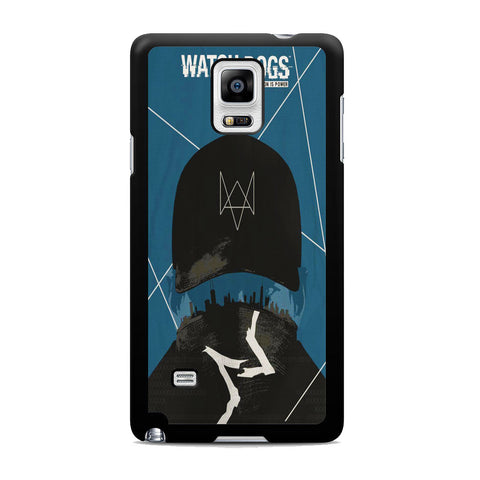 Watch Dogs Connection Is Power Samsung Galaxy Note 4 Case