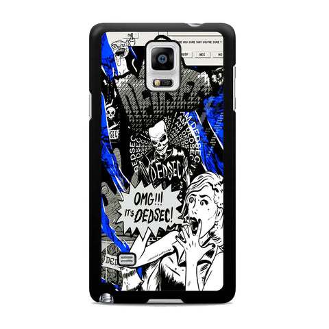 Watch Dogs Omg It's Dedsec Samsung Galaxy Note 4 Case